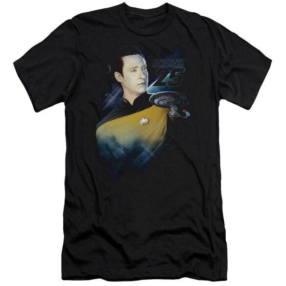 Star Trek Data 25 Th Premuim Canvas Adult Slim Fit