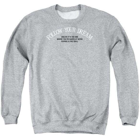 Naked At Work Adult Crewneck Sweatshirt Athletic