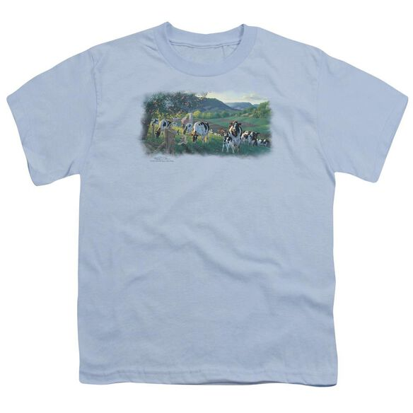 Wildlife Gods Country Short Sleeve Youth Light T-Shirt