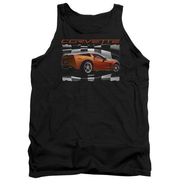 Chevrolet Orange Z06 Vette Adult Tank