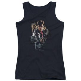 Harry Potter Deathly Hollows Cast-juniors Tank Top