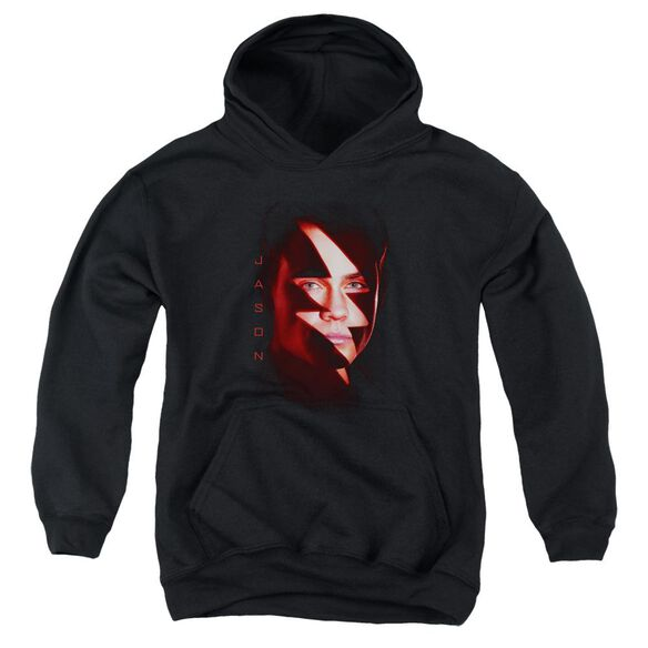 Power Rangers Jason Bolt Youth Pull Over Hoodie