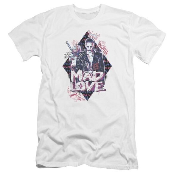 Suicide Squad Mad Love Hbo Short Sleeve Adult T-Shirt