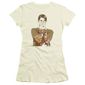 Snl Stephon Short Sleeve Junior Sheer T-Shirt