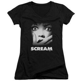 Scream Poster Junior V Neck T-Shirt