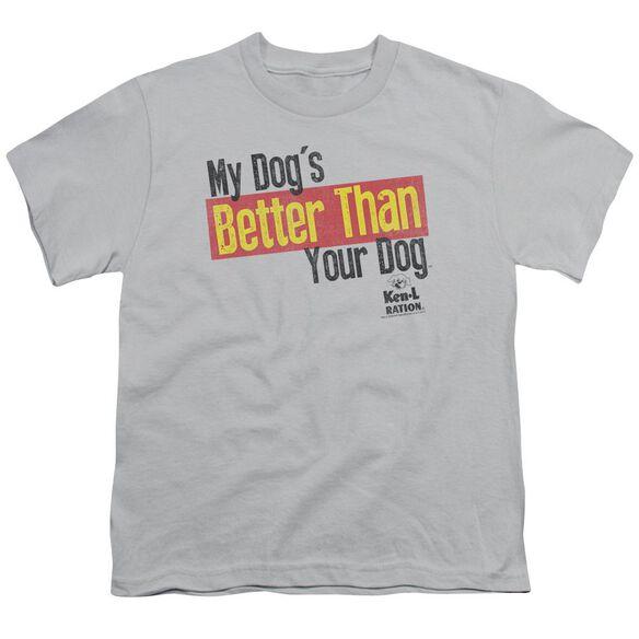 Ken L Ration Better Than Short Sleeve Youth T-Shirt