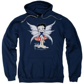 Betty Boop Mushroom Fairy Adult Pull Over Hoodie