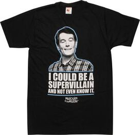 Malcolm in the Middle Supervillain T-Shirt Sheer