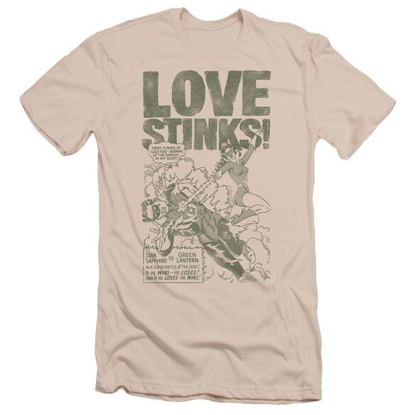 Green Lantern Love Stinks Short Sleeve Adult T-Shirt