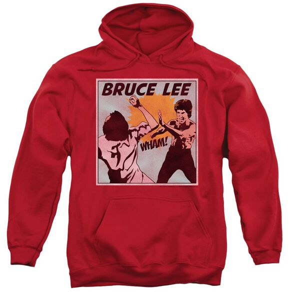 Bruce Lee Comic Panel Adult Pull Over Hoodie