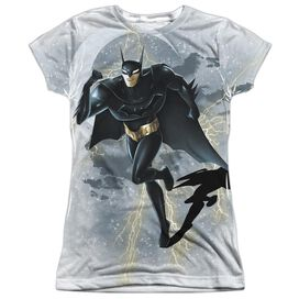 Beware The Batman Storm Sprint Short Sleeve Junior Poly Crew T-Shirt