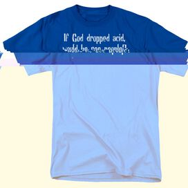 DROPPED ACID - ADULT 18/1 - ROYAL BLUE T-Shirt