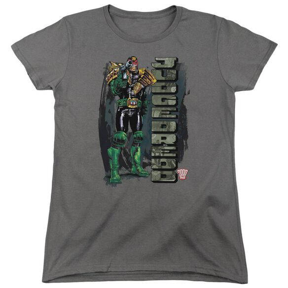Judge Dredd Blam Short Sleeve Womens Tee T-Shirt