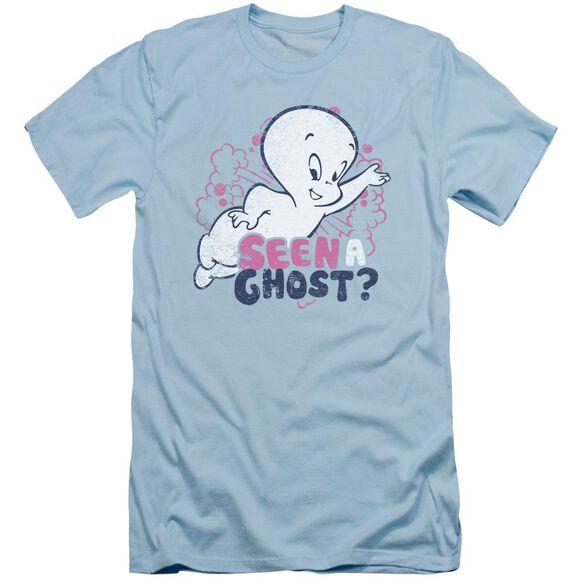 Casper Seen A Ghost Short Sleeve Adult Light T-Shirt