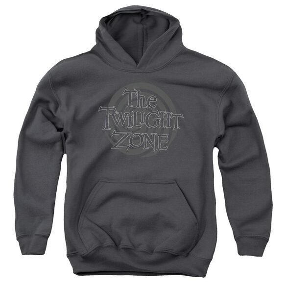 Twilight Zone Spiral Logo Youth Pull Over Hoodie