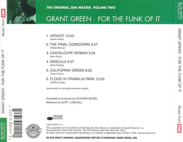 For The Funk Of It 0505