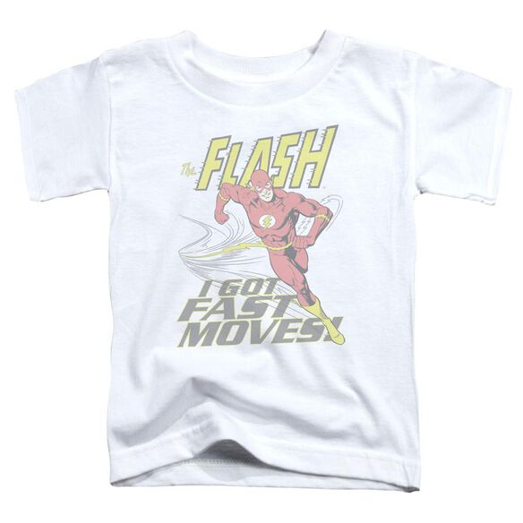 Dco Fast Moves Short Sleeve Toddler Tee White Sm T-Shirt