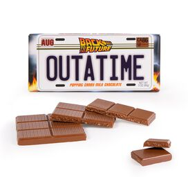 Back To The Future OUTATIME Chocolate Bar