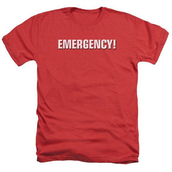 Emergency Logo Adult Heather