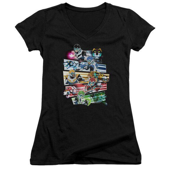 Voltron Paladins Strike Junior V Neck T-Shirt