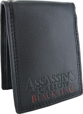 Assassins Creed 4 Black Flag Logo Bifold Wallet