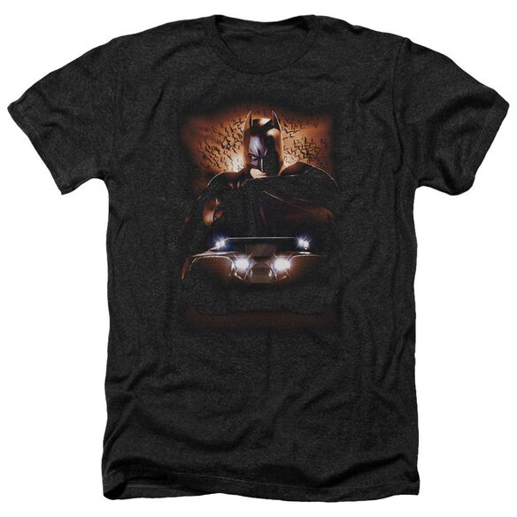 Batman Begins Batman & Tumbler Adult Heather