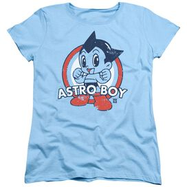 Astro Boy Target Short Sleeve Womens Tee Light T-Shirt