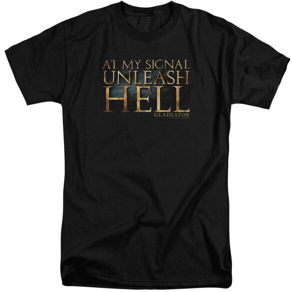 Gladiator Unleash Hell Short Sleeve Adult Tall T-Shirt