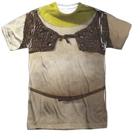 SHREK COSTUME-S/S ADULT T-Shirt
