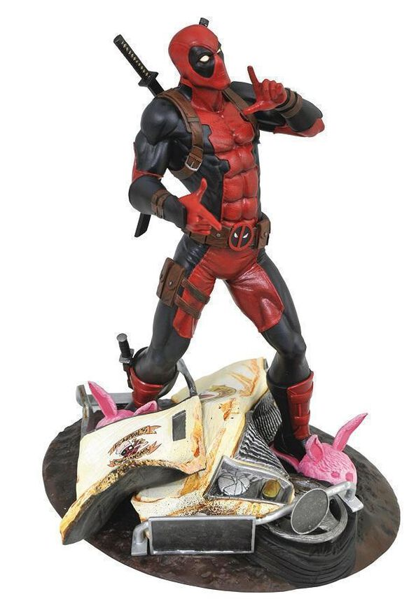 Used Dvds For Sale >> Diamond Select Toys: Marvel Gallery - Deadpool 9-Inch Collectible PVC Statue [Taco Truck] | FYE