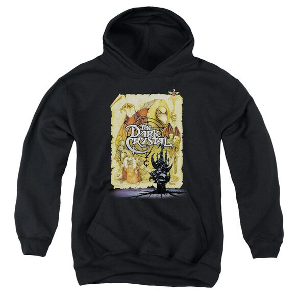 Dark Crystal Poster Youth Pull Over Hoodie