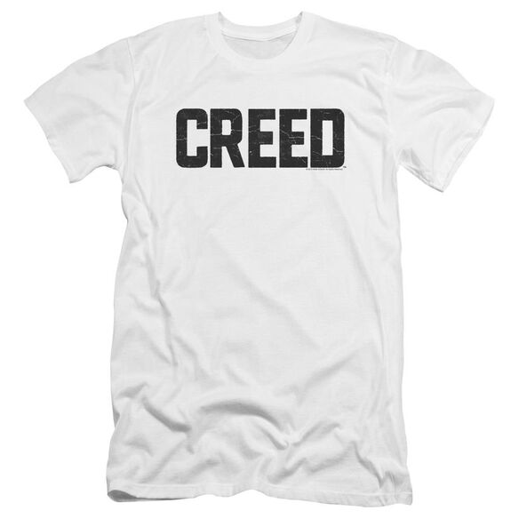 Creed Cracked Logo Premuim Canvas Adult Slim Fit