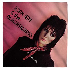 Joan Jett Crimson And Clover Bandana White