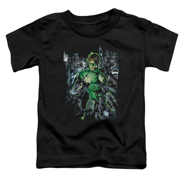 Green Lantern Surrounded By Death Short Sleeve Toddler Tee Black Sm T-Shirt