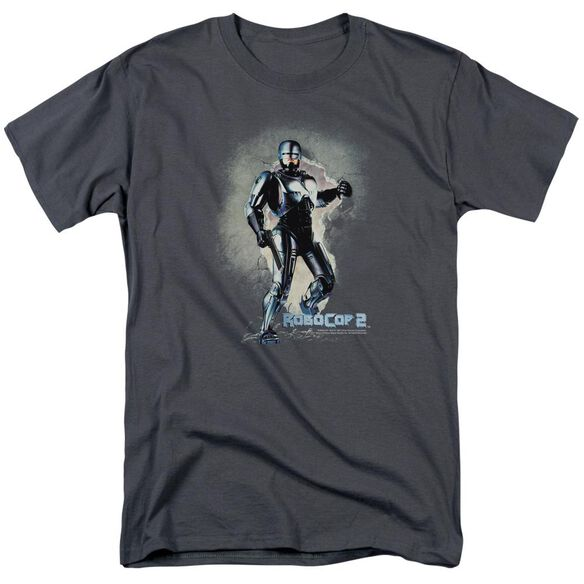 Robocop Break On Through Short Sleeve Adult T-Shirt