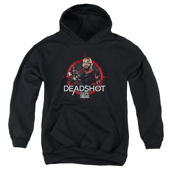 Suicide Squad Deadshot Target Youth Pull Over Hoodie