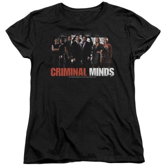 Criminal Minds The Brain Trust Short Sleeve Womens Tee T-Shirt