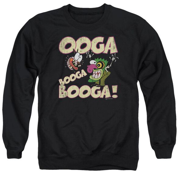 Courage Ooga Booga Booga Adult Crewneck Sweatshirt