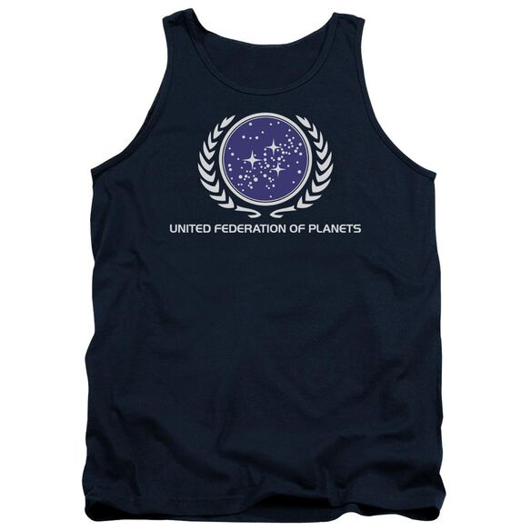 Star Trek United Federation Logo Adult Tank