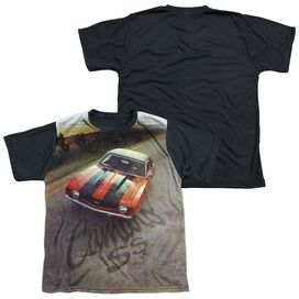 Chevrolet Camaro Ss Short Sleeve Youth Front Black Back T-Shirt