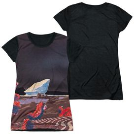 Yes Drama Short Sleeve Junior Poly Black Back T-Shirt