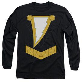 JLA BLACK ADAM- L/S ADULT T-Shirt