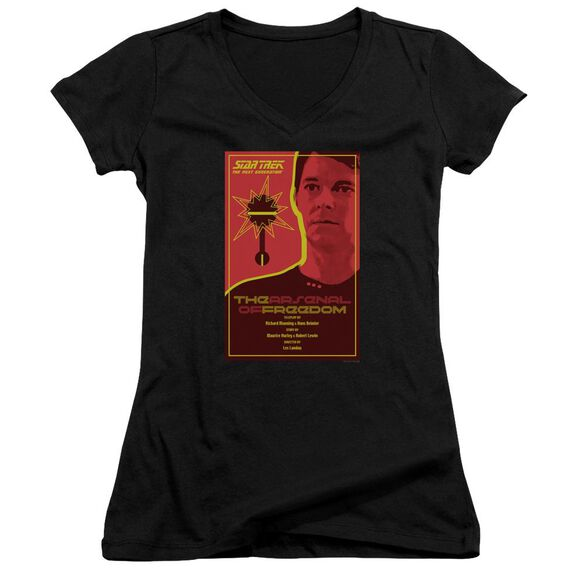 Star Trek Tng Season 1 Episode 21 Junior V Neck T-Shirt