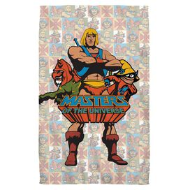 Masters Of The Universe Heroes Beach Towel