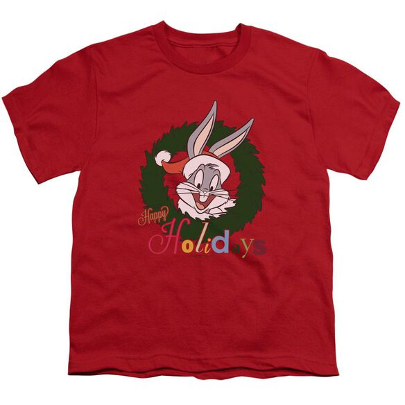 Looney Tunes Holiday Bunny Short Sleeve Youth T-Shirt