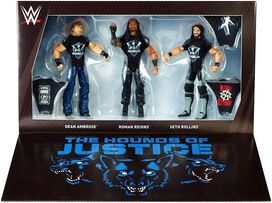 WWE Wrestling Elite Epic Moments The Shield Reunion Action Figure Set