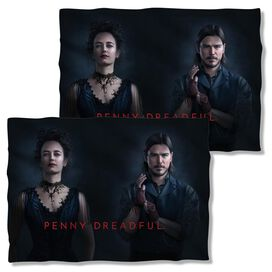 Penny Dreadful Chandler And Ives (Front Back Print) Pillow Case White