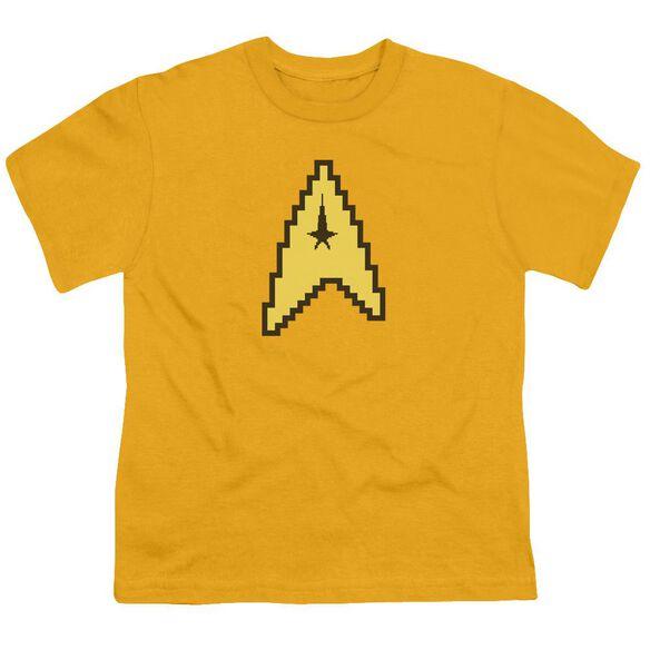 Star Trek 8 Bit Command Short Sleeve Youth T-Shirt