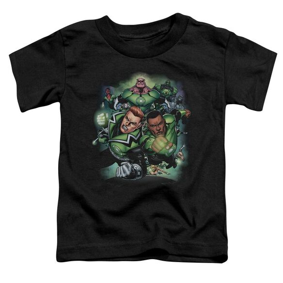 Green Lantern Corps #1 Short Sleeve Toddler Tee Black Sm T-Shirt