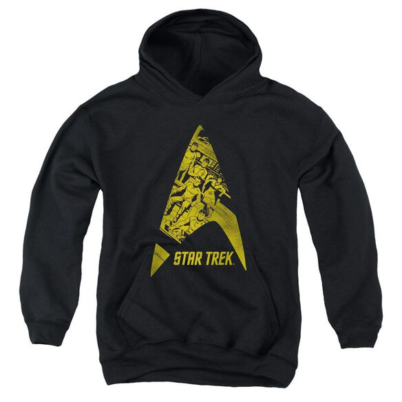 Star Trek Delta Crew Youth Pull Over Hoodie